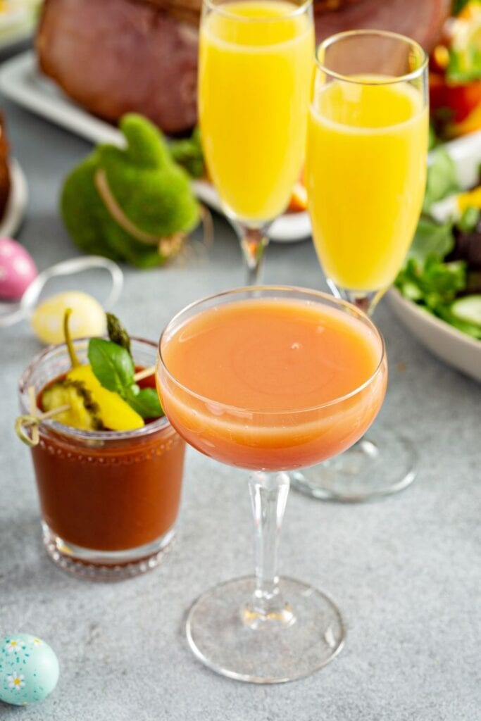 Easter Cocktails: Mimosas and Bloody Mary