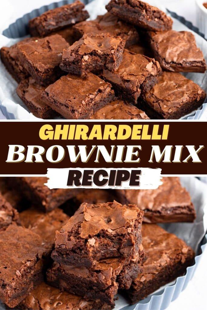 Ghirardelli Brownie Mix Recipe