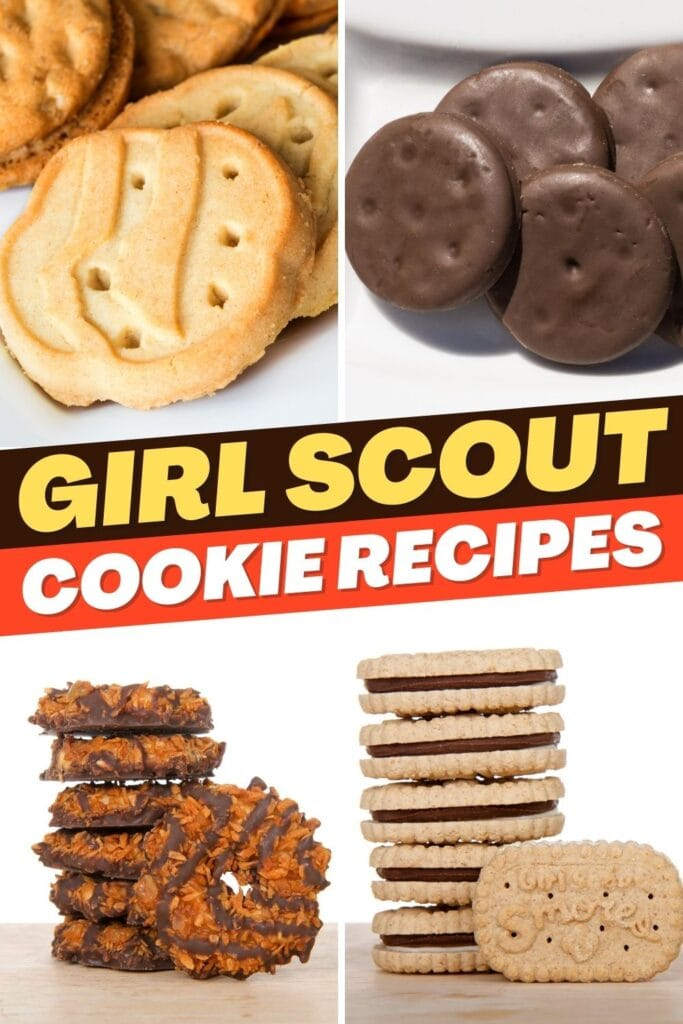 Girl Scout Cookie Recipes