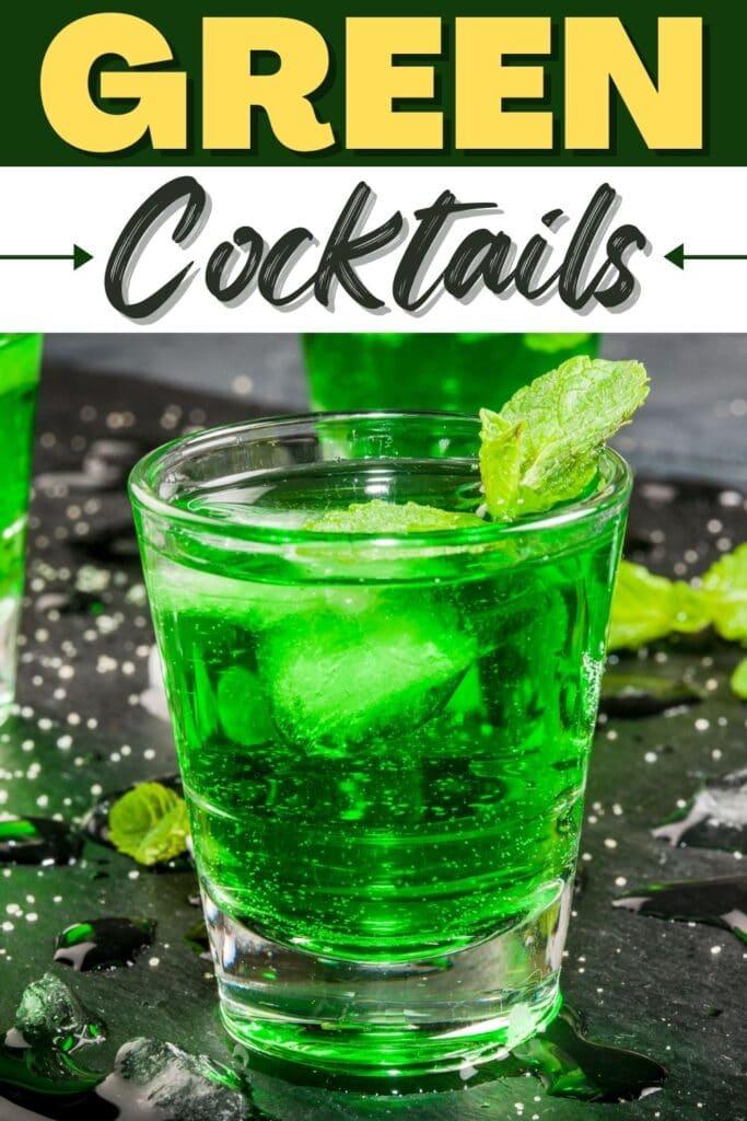 Green Cocktails