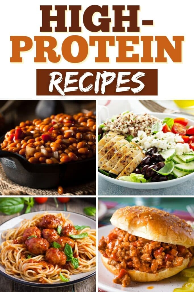 High-Protein Recipes