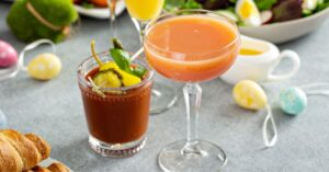 Homemade Easter Cocktails: Mimosas and Bloody Mary