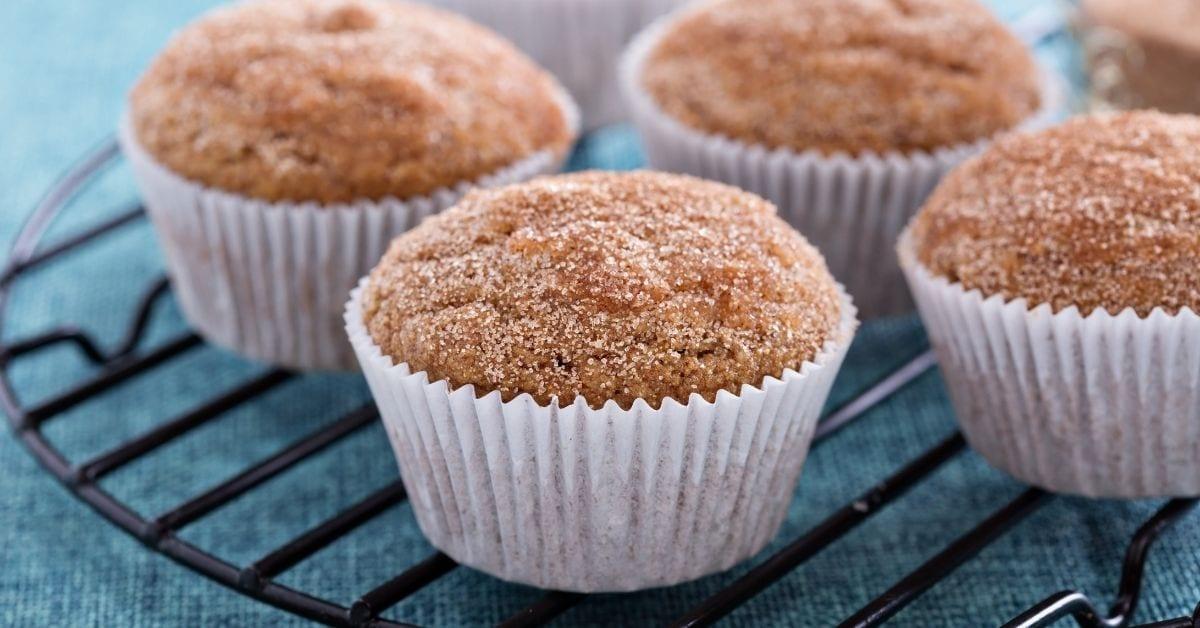 Homemade Moist and Fluffy Applesauce Muffins