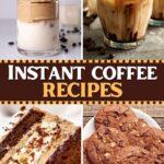 Instant Coffee Recipes