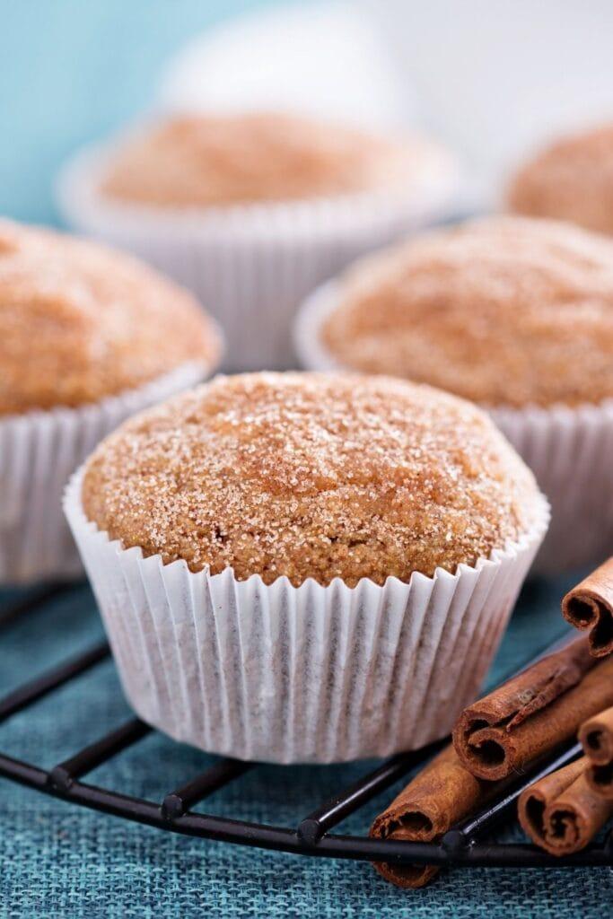 Moist and Fluffy Applesauce Muffins
