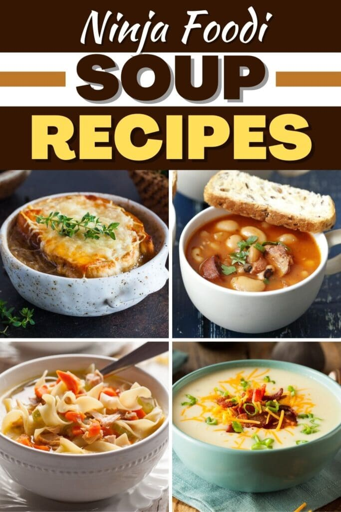 Ninja Foodi Soup Recipes