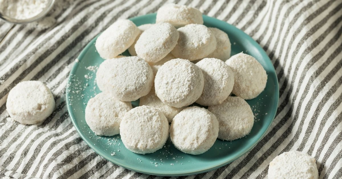 Nutty and Crumbly Italian Wedding Cookies