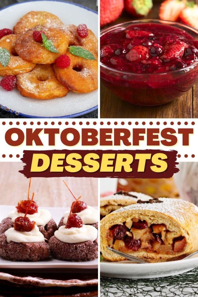 Oktoberfest Desserts