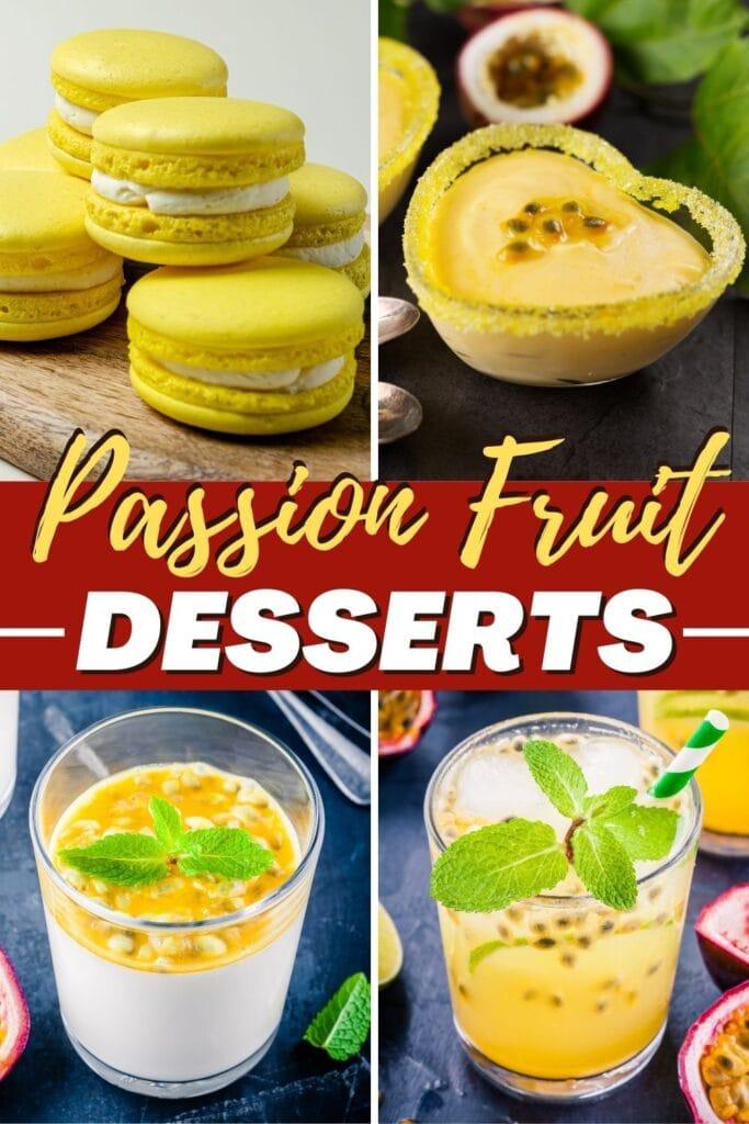 Passion Fruit Desserts