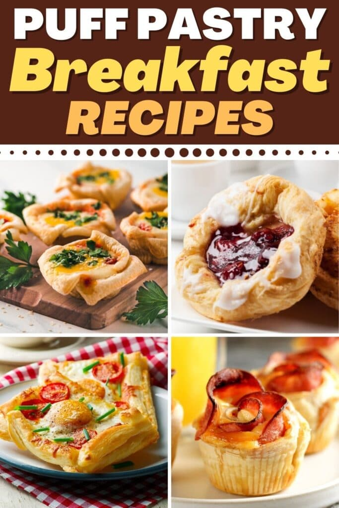 Puff Pastry Breakfast Recipes