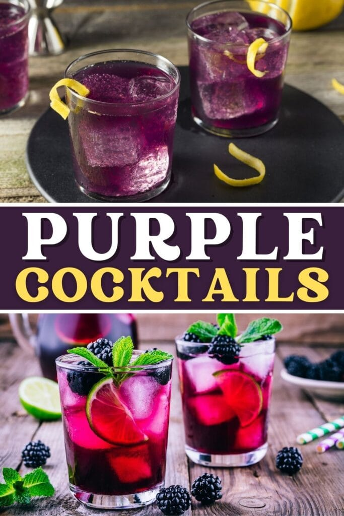 Purple Cocktails