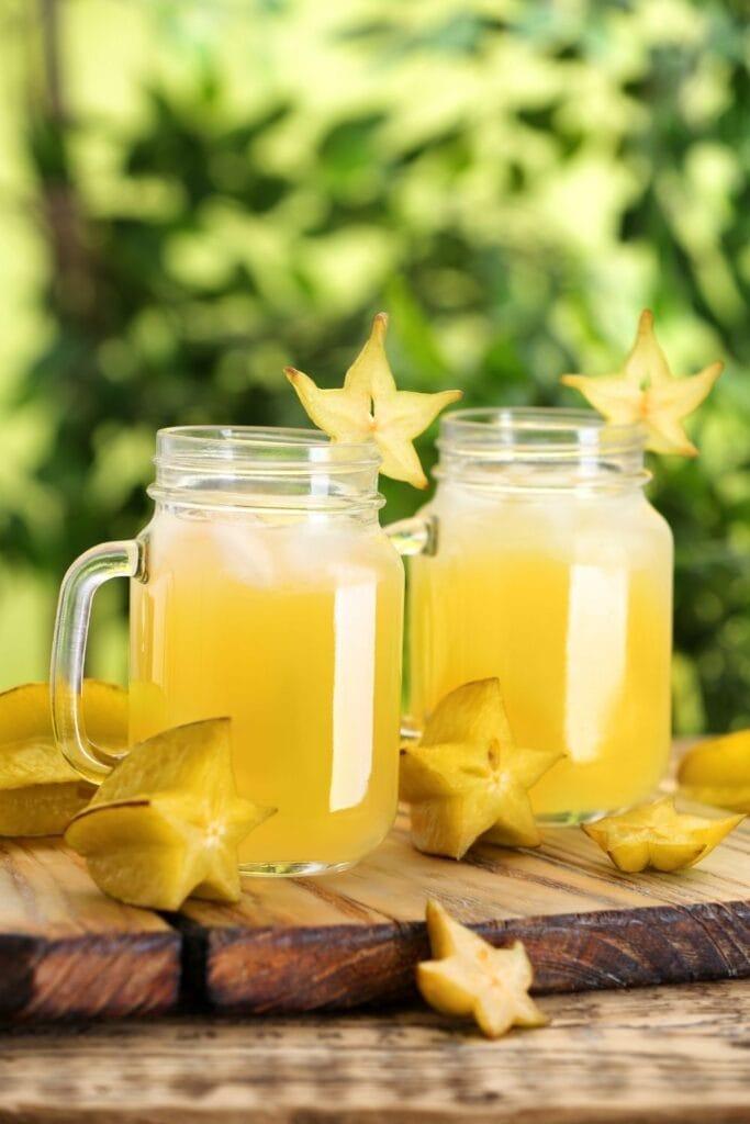 Refreshing Starfruit Juice