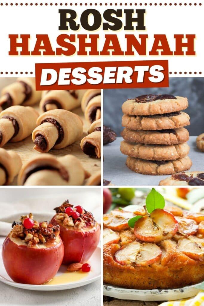 Rosh Hashanah Desserts