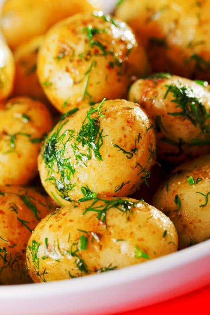 Sauteed Baby Potatoes with Dill