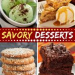 Savory Desserts