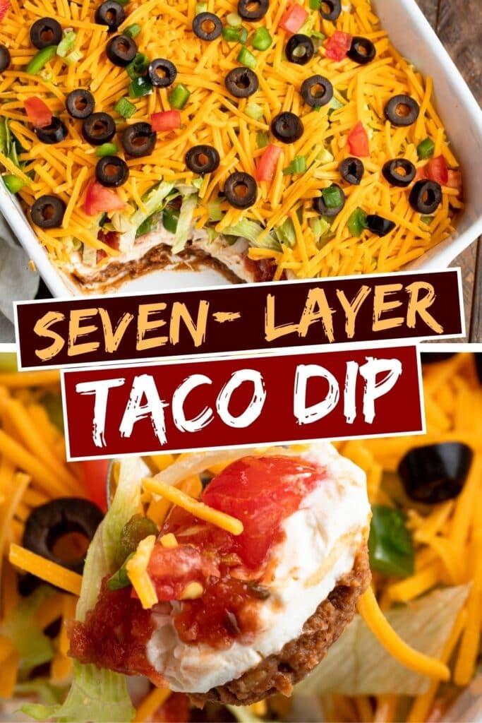 Seven-Layer Taco Dip