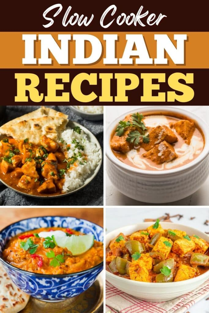 Slow Cooker Indian Recipes