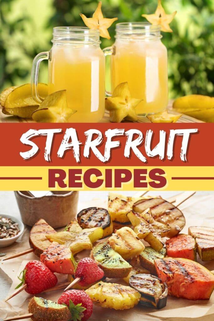 Starfruit Recipes