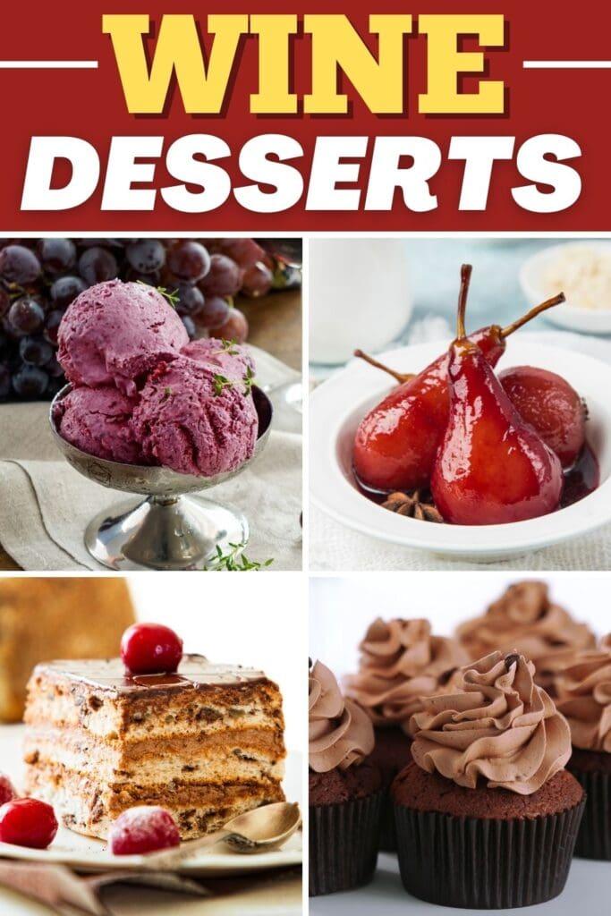 Wine Desserts