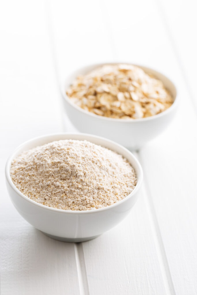Bowl of Ground Oatmeal