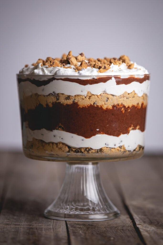 Delicious Homemade Cookie Dough Trifle