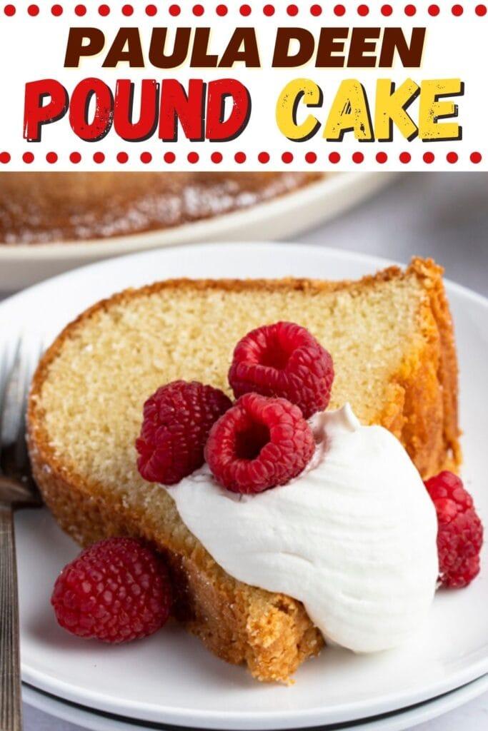 Paula Deen Pound Cake